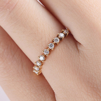 Pave Diamond Eternity Ring Wedding Band