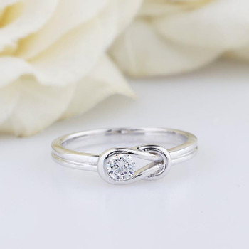 Special Design 5mm Moissanite Ring Engagement Ring Anniversary Ring