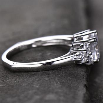 Unique Cluster 7mm Round Engagement Ring Antique Wedding Engagement Ring