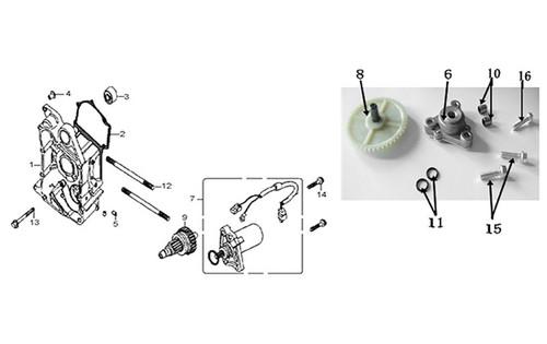 01-Right Crank Case Comp -E-05-HS