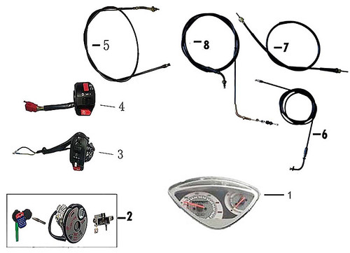 02-IGNITION LOCK SET