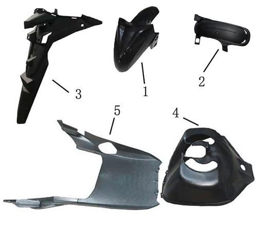 01-Front wheel fender