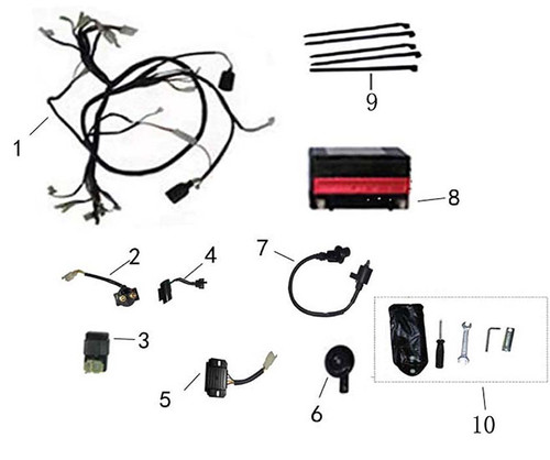 07-IGNITION COIL ASSY -F13- Electrical System-RS