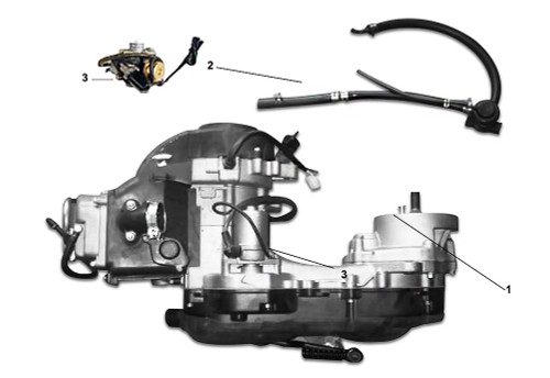 01 Engine Assy (Long Case)