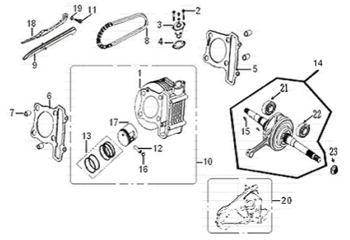 16 Piston Pin Clip