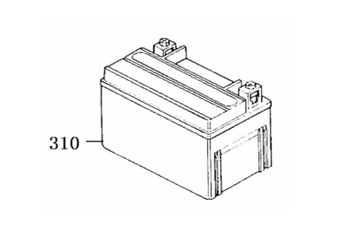 310 Battery Ytx7a-Bs