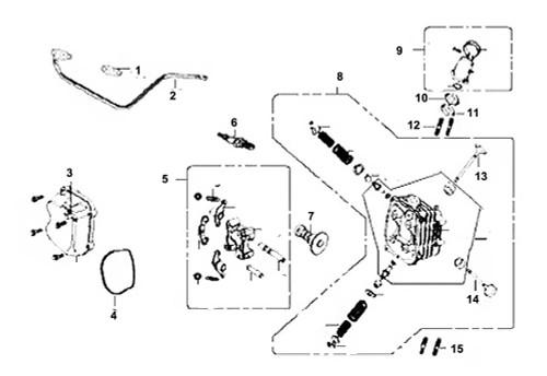 10 Insulator Carburetor