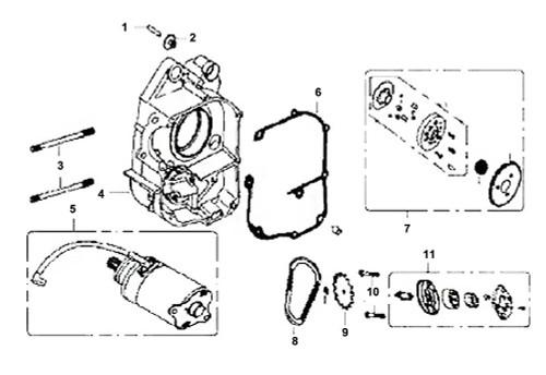 01 Shaft Starter Reduction Gear