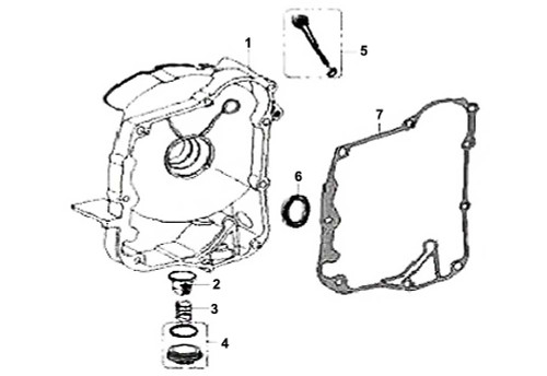 07 Right Crankcase Cover Gasket