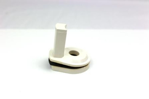White Air Gap Adaptor