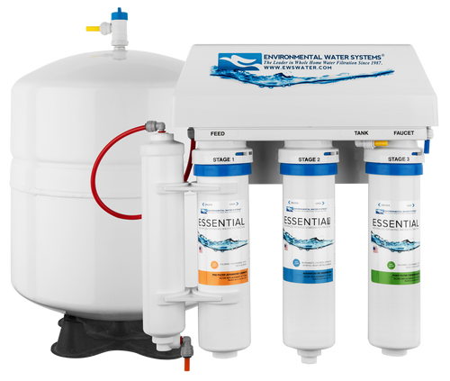 ESSENTIAL RO Four-Stage Reverse Osmosis System with Ultraviolet Protection (Model #: RO4-UV)