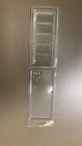5 Section Snap Bar Style Clamshell