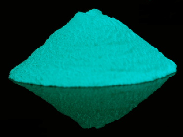 Blue Green GLOW IN THE DARK Pigment