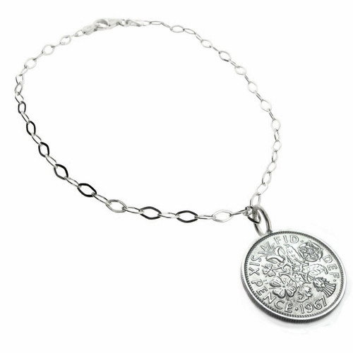 sixpence anklet