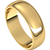 6mm 14kt Yellow Gold Wedding Band