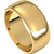 8mm 14kt Yellow Gold Wedding Band