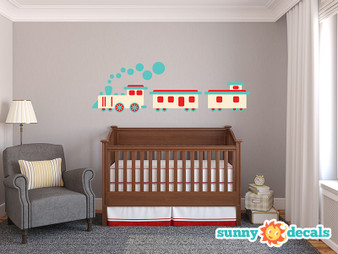 Train Wall Decals - Sunny Decals
