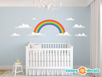 Rainbow Wall Decals - Sunny Decals