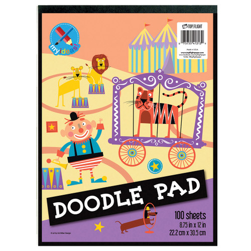 """My Ideas® Doodle Pad, 8.75"""" x 12"""", 100 Sheets"""