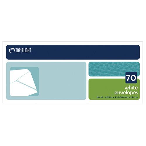 Plain #10 Envelopes, Boxed, 70 per Box