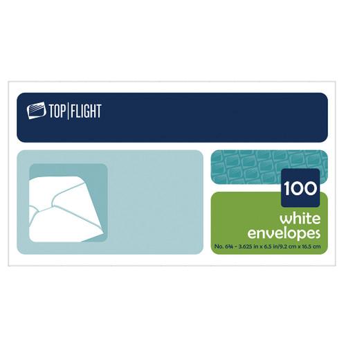 Plain 6 3/4 Envelopes, Boxed, 100 per Box