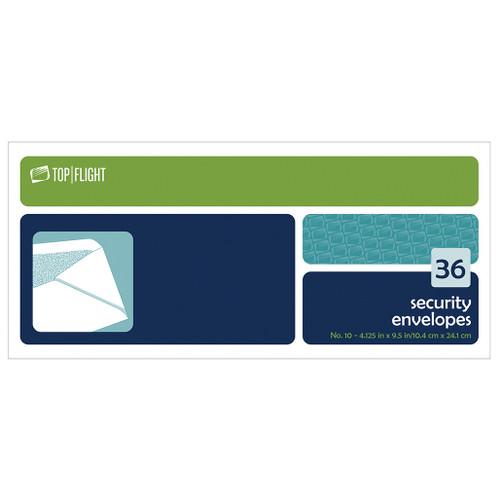 Security Envelopes, #10, Boxed, 36 per Box