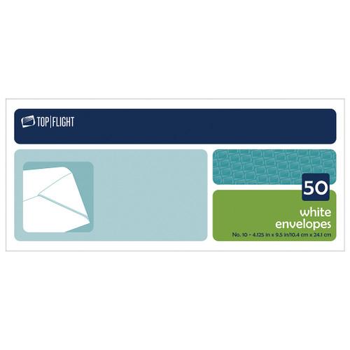 Plain #10 Envelopes, Boxed, 50 per Box