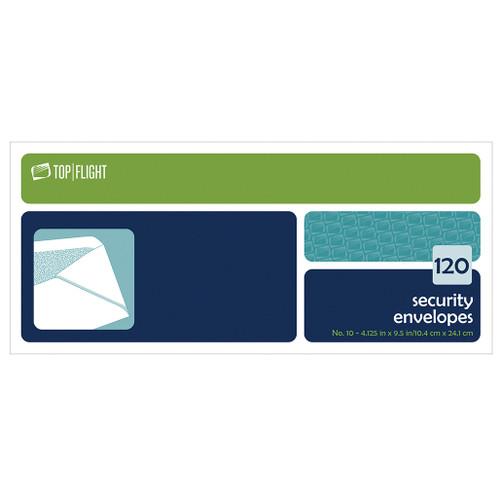 Security Envelopes, #10, Boxed, 120 per Box