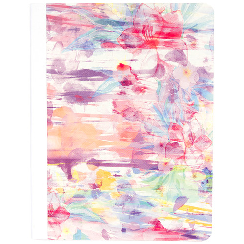 Hawaiian Vibe Floral Composition Book, Wide Rule, 80 Sheets