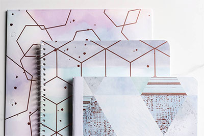 Watercolor Geo Collection