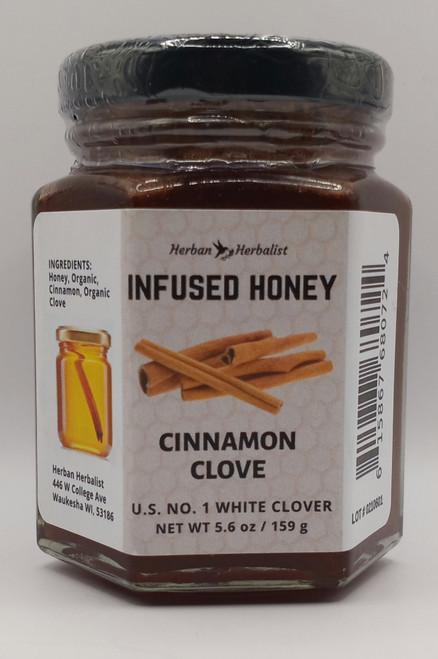 Cinnamon & Clove Infused Honey