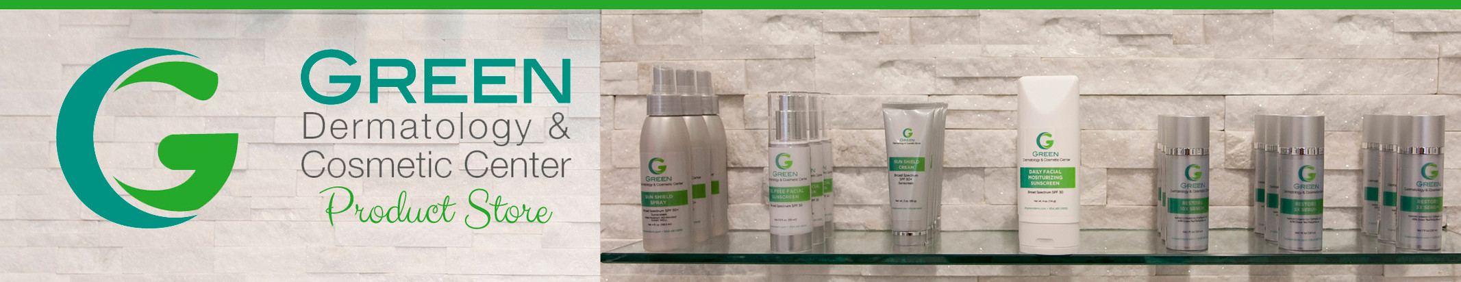 Green Dermatology & Cosmetic Center Product Store