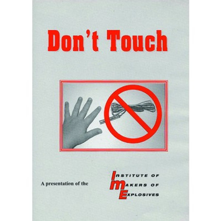 Dont Touch DVD