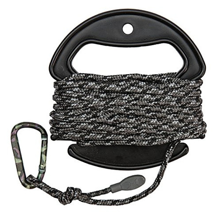 Braided Hoist Rope - 25 ft 4mm Camo