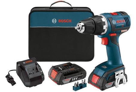 "Bosch 18V EC Brushless Compact Tough 1/2"" Drill/Driver Kit  DDS182-02"