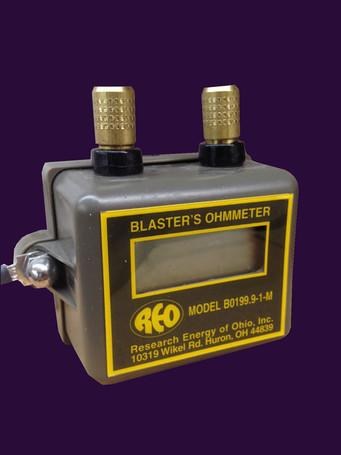 BO199.9-1 M Ohmmeter Olive Drab Green