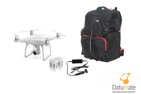 DJI Site Survey Solutions Drone and Datumate Single User Perpetual License Package