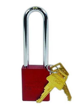 1107 Red Lockbody 1/4 inch X 3 inch