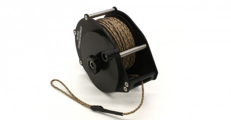Speed Reel with 100 ft of 2mm Kernmantle