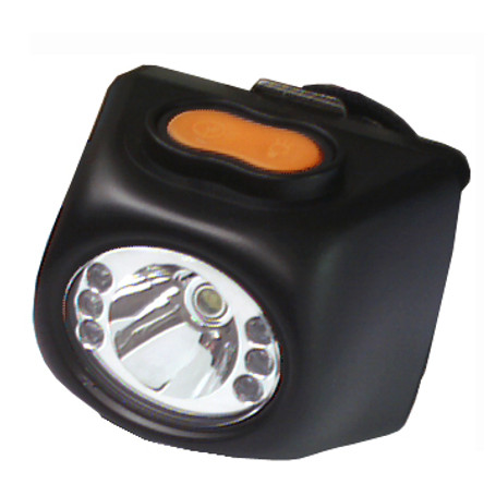 Self Contained LED Miner's Cap Lamp & Charger