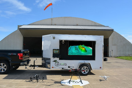 Mobile UAV / Drone Ground Station Trailer