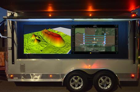 Mobile UAV Ground Station Trailer