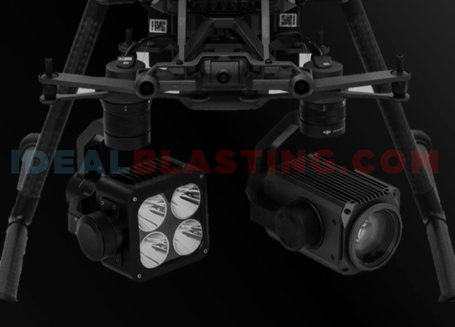 Tactical Drone Spotlight and Laser for DJI Payload SDK