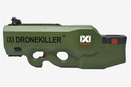 IXI Drone Killer - Electronic Warfare Counter UAS