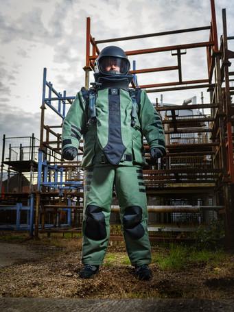 Morgan NP Aerospace 4030 Elite Next Gen Bombsuit NIJ 0117.01 Pending
