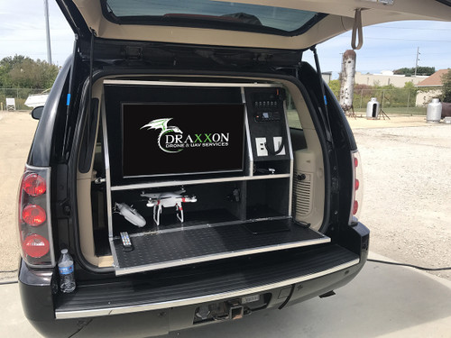 Mobile Ground Stations for UAV's Drones