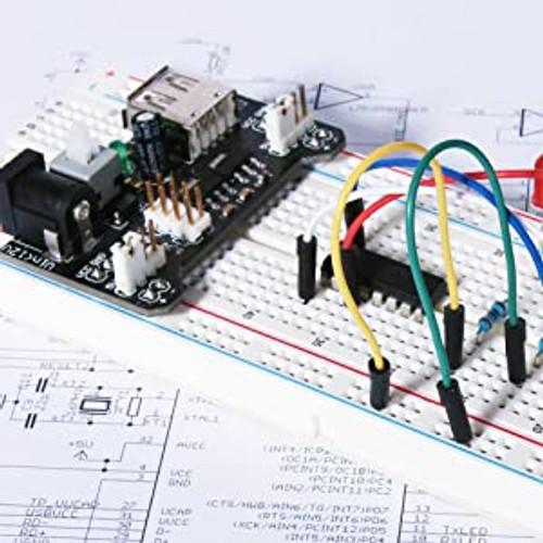 1 Satz Steckbrett Steckboard Breadboard Jumper Wire für Arduino Raspberry Pi