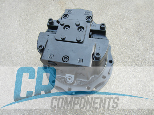 reman-hydraulic-drive-motor-for-John Deere-329E-track-loader-2-speed-rebuilt-1