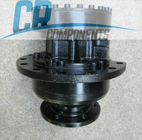 reman-hydraulic-drive-motor-for-Bobcat-T190-trackloader-rebuilt-4 port-1