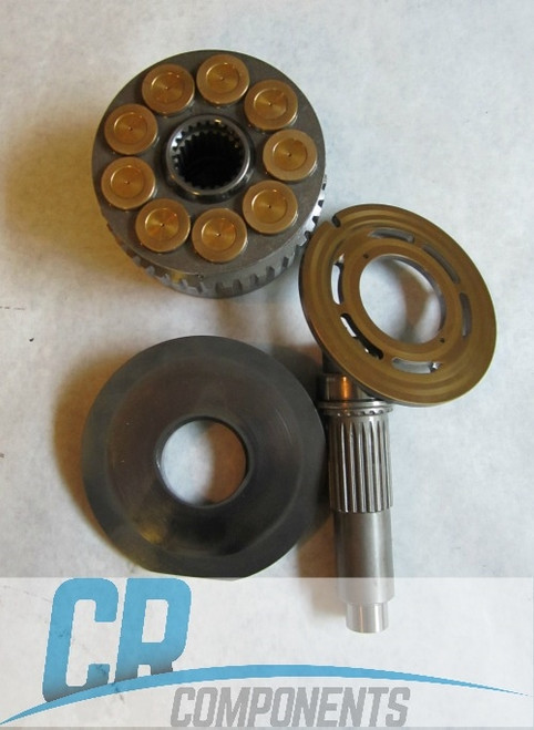 Reman Drive Motor Repair Assy for New Holland C175 Track Loader - Bonfiglioli 47923177, 87588897-1